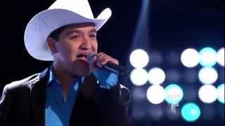 """Julio Yanez canta """"De que me presumes"""" en La Voz Kids"""