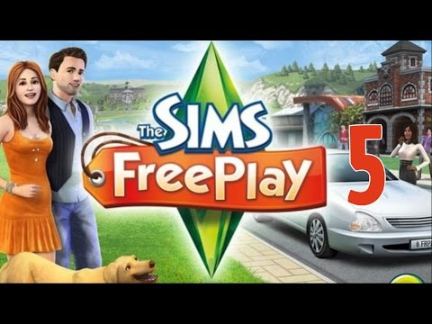 The Sims FreePlay Lets Play Part 5 - Dating Sims