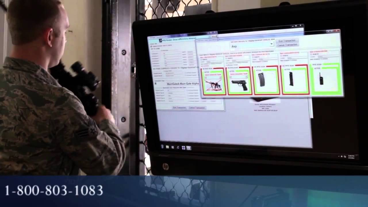 Rfid Armory Tracking Management For Pistols Weapons Ammo