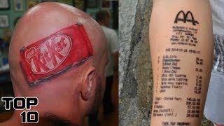 Top 10 Worst Tattoos Ever – Part 2