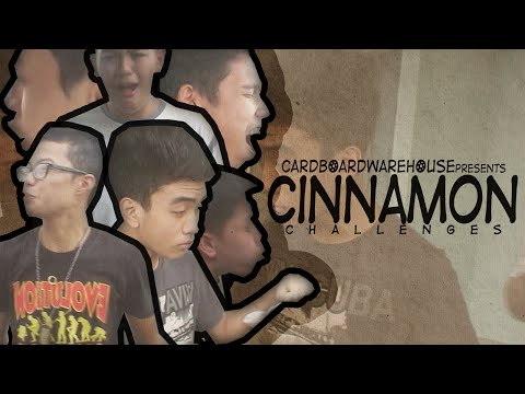 CHALLENGES - Cinnamon Challenge