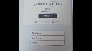 Ks2 Maths SATS TEST 3 Paper 1 Exam Ninja
