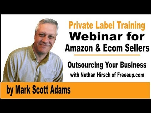Outsourcing for  Amazon FBA Private Label sellers with Nathan Hirsch from Freeeup.com