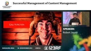 JWC15 - Successful Management of Content Management