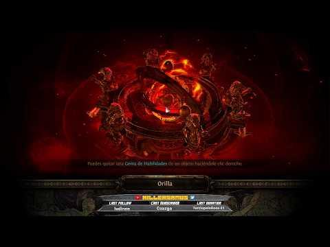 [ESP] Path Of Exile - MAPEANDO - #Build Esqueletos || Killersamus