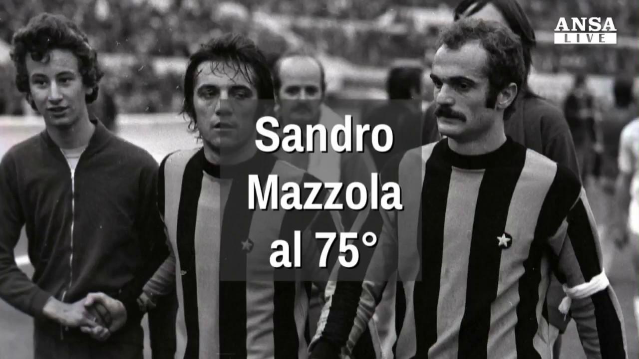 I 75 anni di Sandro Mazzola Vorrei dicessero che ero bravo quasi