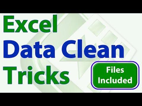 Best Excel Tricks to Clean Data