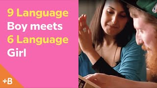 Baixar 9 Language Boy Meets 6 Language Girl | Babbel Polyglots