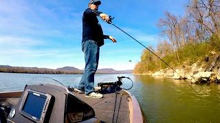 Flipping for Lake Guntersville Smallies