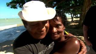'Na Estrada'  Nadia Bochi e Jimmy conhecem as belezas de Prado   Mais Você   gshow 4 Cumuruxatiba