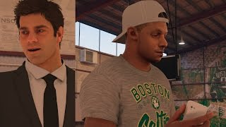 NBA 2K17 PS4 My Career - Lets Talk Shoes! thumbnail