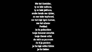 Jan Bendig- Me tut užarav, text/preklad