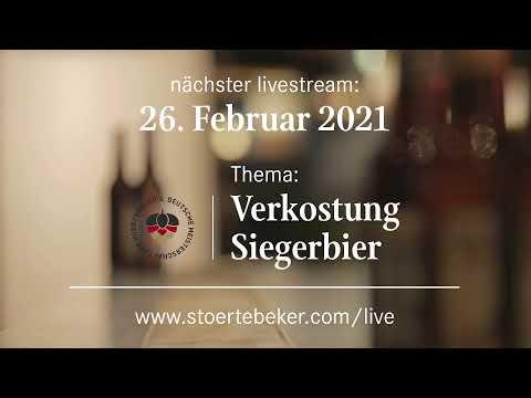 """Störtebeker Live (Teil 2): Online-Verkostung """"Alkoholfreie Biere"""""""