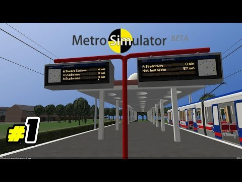 playing metro simulator 7 funnydog tv. Black Bedroom Furniture Sets. Home Design Ideas