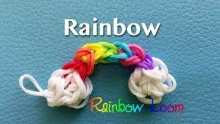 EASY Rainbow Loom Rainbow Charm