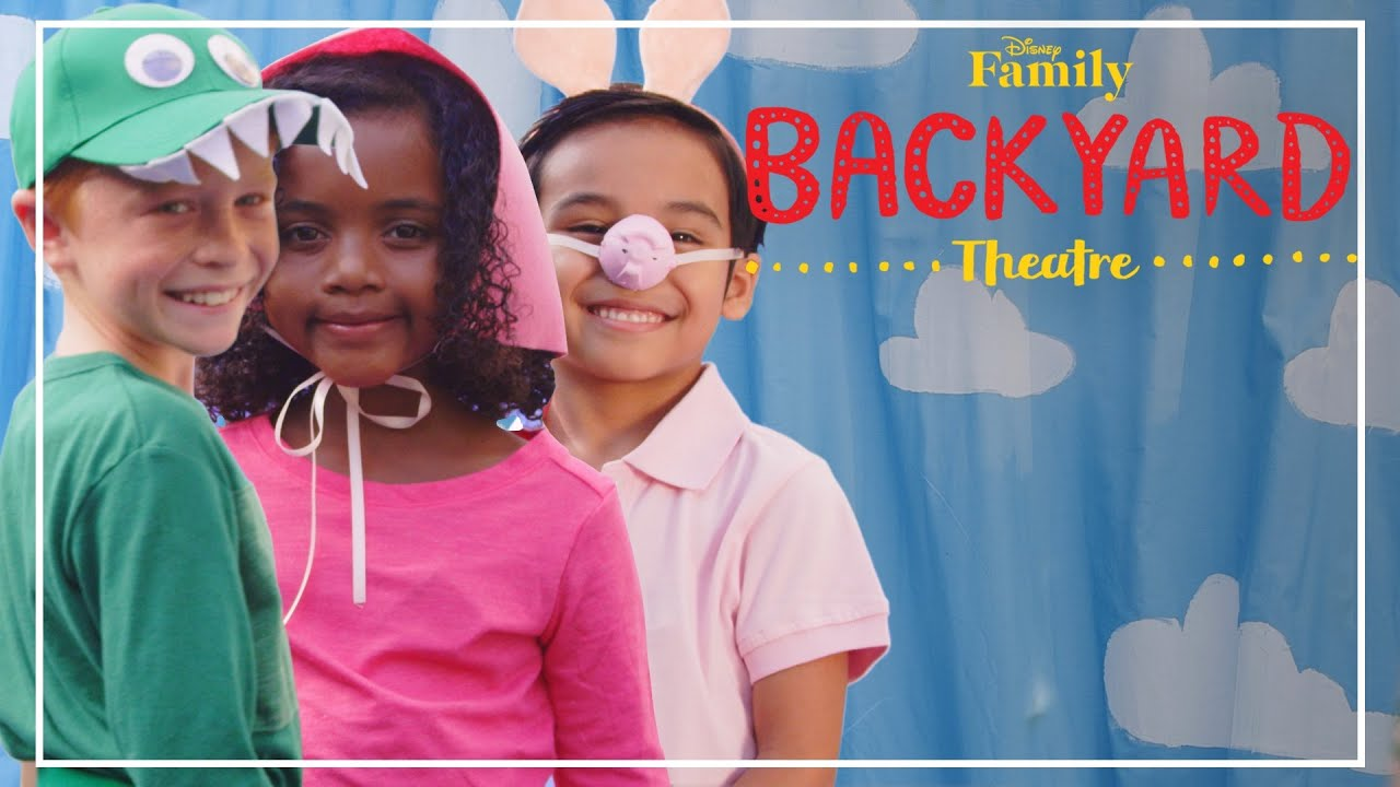backyard theatre toy story costumes diy disney family youtube