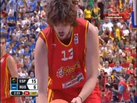 Золотой Спорт России/ Russian Gold Sport - Баскетбол Евро-2007. Финал, Испания - Россия. 16.09.2007