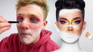 I Copied James Charles' Morphe Reveal