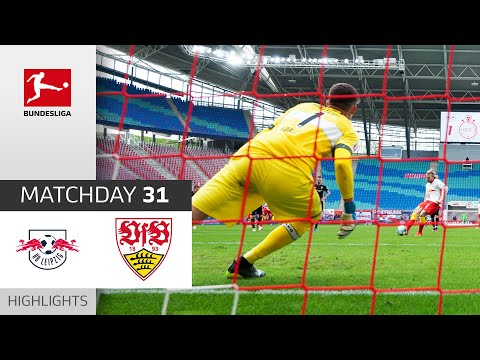 RB Leipzig - VfB Stuttgart | 2-0 | Highlights | Matchday 31 – Bundesliga 2020/21