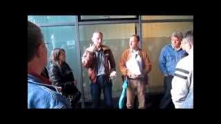 Протест против Гаспромњефта испред Норвешке амбасаде