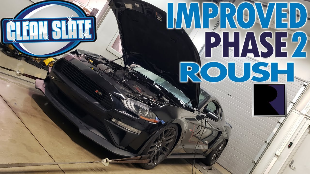 2018 Mustang Improved Design Roush Phase 2 Supercharger 750hp Dyno Review Youtube