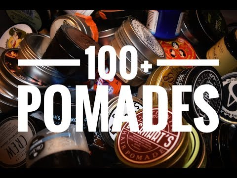My Entire Pomade Collection!!