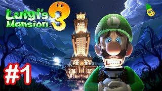 Luigi s Mansion 3 Gameplay Walkthrough Part 1 Welcome to the Last Resort Nintendo Switch