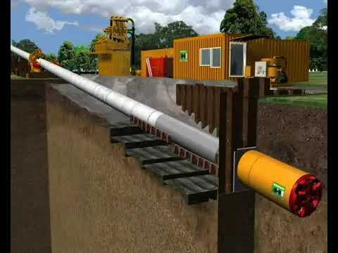 Micro Tunnelling Pipelay Technology