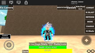 Showing all the transformations even MUI in the Roblox (Dragon ball Warriors)!!