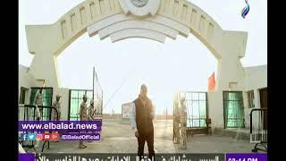 حمدي رزق يقدم برنامجه من داخل مركز تدريب الدفاع الجوي.. فيديو