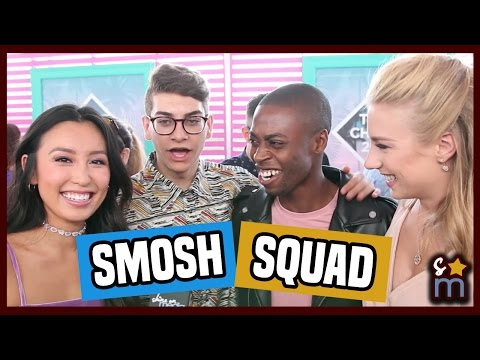 SMOSH Squad Talk Fans & Sing Justin Timberlake | Teen Choice 2016 Interview