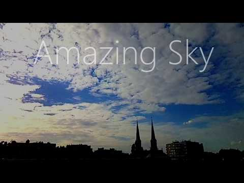 Amazing Sky - A Timelapse (Antwerp, Belgium)