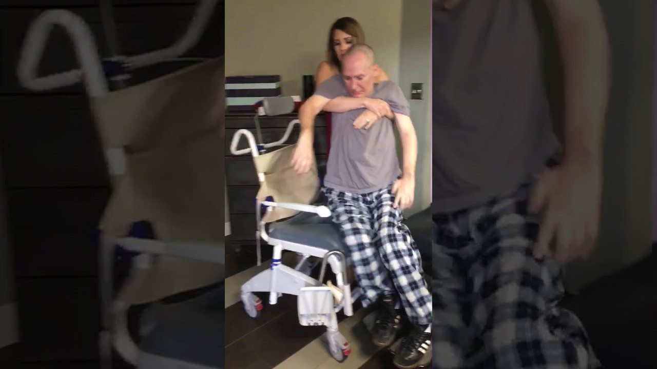 Tip Transferring From A Wheelchair To Shower Chair