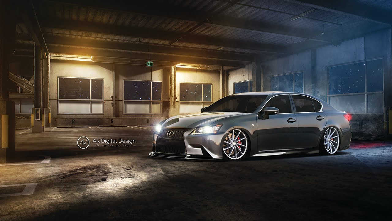 Lexus GS 350 Modified - Virtual Tuning - YouTube