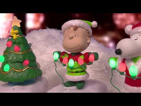 Peanuts® Gang Christmas Lights Show