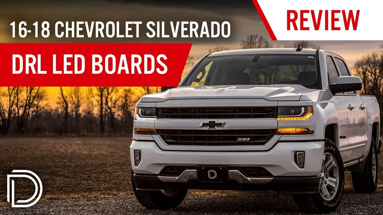 Now Available! 2016-2018 Chevrolet Silverado DRL LED Boards
