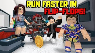 FLIP-FLOPS vs RUNNING SHOES! Roblox MURDER MYSTERY 2