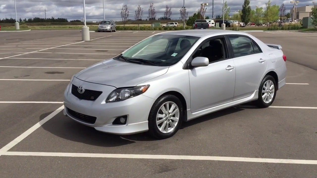 2010 Toyota Corolla S Review Youtube
