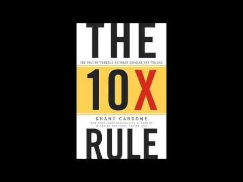The 10X Rule Audiobook Summary Grant Cardone