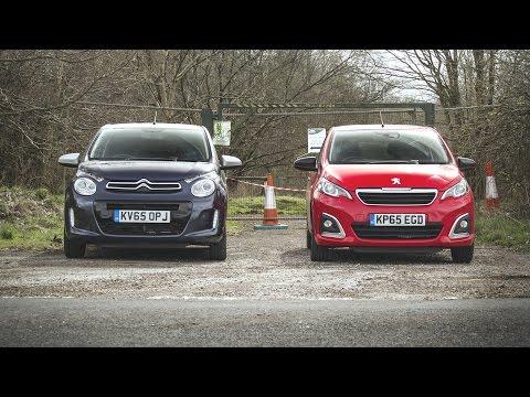 Small Cars Aren't Bad Cars - Peugeot 108, Citroen C1, Toyota Aygo