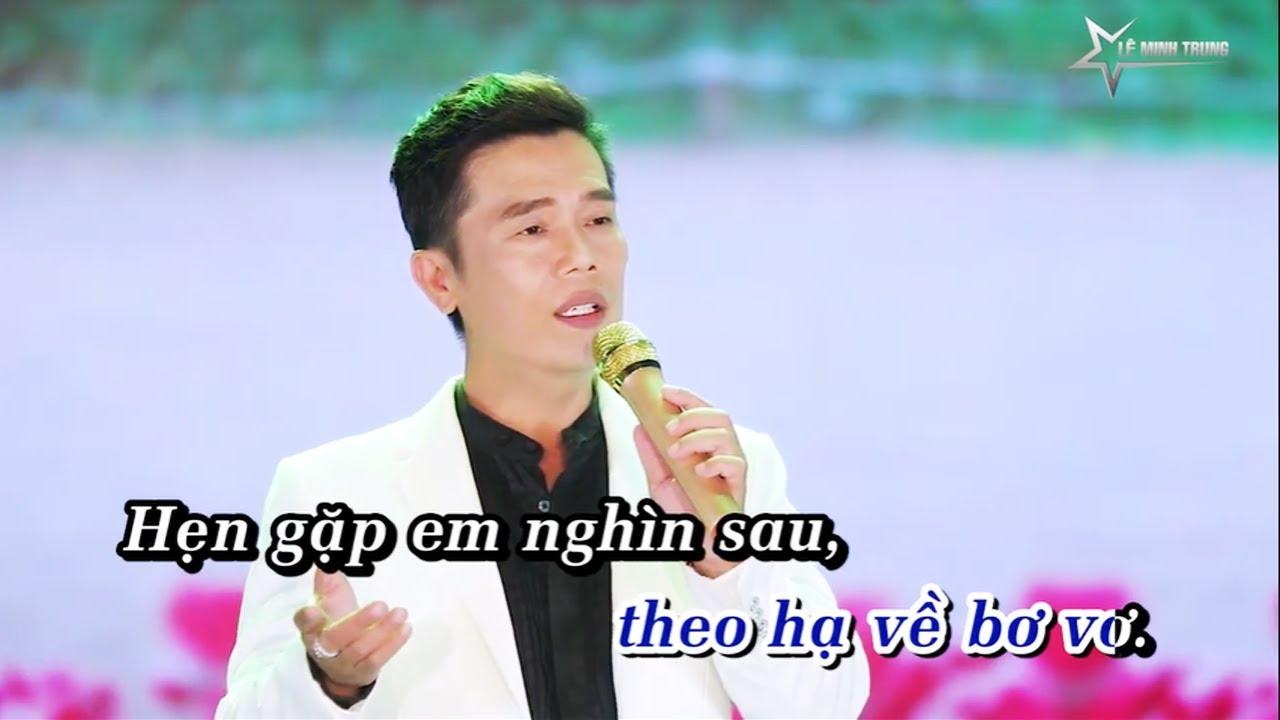 Karaoke Điệu Buồn Chia Xa Tone Nam - Beat Chuẩn Lê Minh Trung
