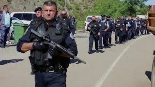 Обострение ситуации произошло на границе самопровозглашенного Косова и Сербии.