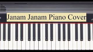 Janam Janam (Arijit Singh) Piano Cover   Notes Available