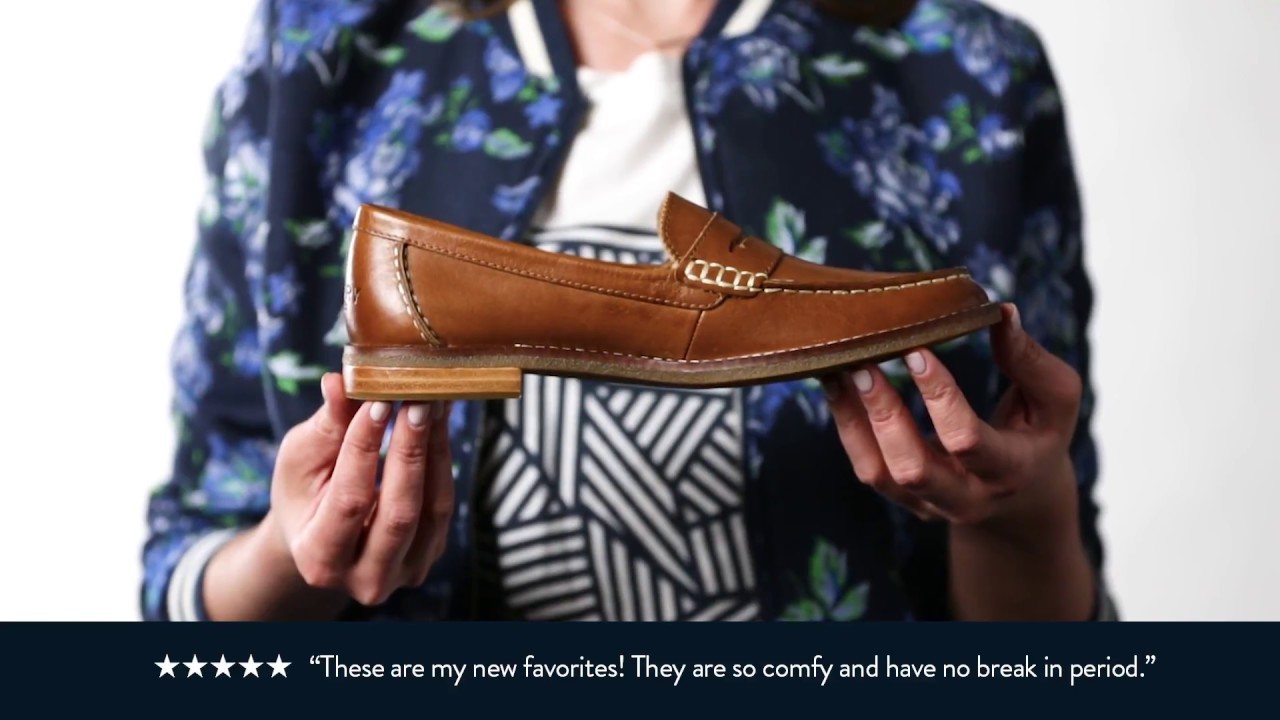bdb57b3b050 Behind the Design  Sperry Seaport Penny Loafer - YouTube