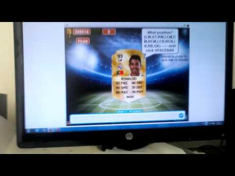 LUCKY FIRST PACK OPENING! ( FIFA 16 MINI FUT )