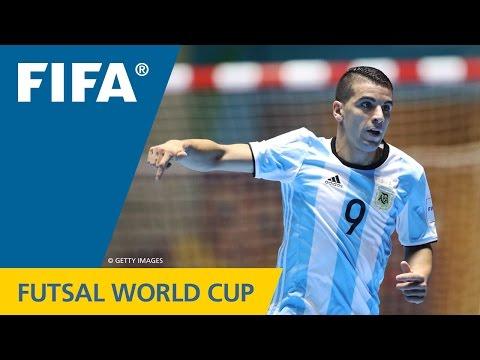 Un gol argentino puede ser elegido como el mejor del Mundial de futsal