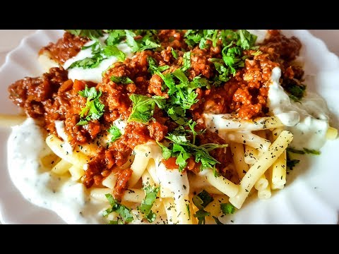 Afghani Macaroni Pasta | مکرونی افغانی