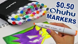 The BEST CHEAP MARKERS to END ALL CHEAP MARKERS? Ohuhu Review