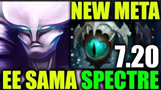 7.20 NEW META Spectre Skadii - The Comeback of EE SAMA Epic Dota 2 Gameplay