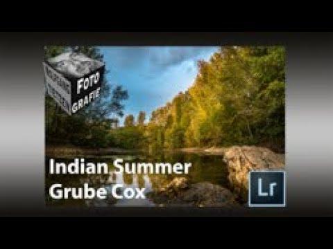 Indian Summer in der Grube Cox - LR Bereichsmasken